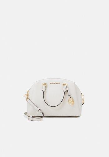 MAXINE DOME SATCHEL - Handbag - optic white