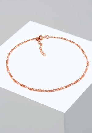 FUSSSCHMUCK FIGAROKETTE - Bracelet - rose gold-coloured