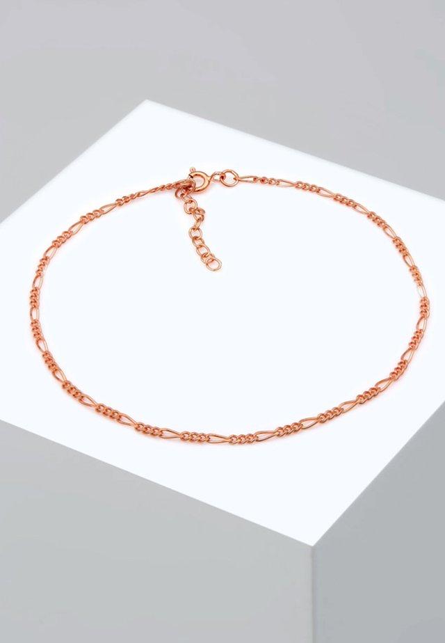 FUSSSCHMUCK FIGAROKETTE - Armband - rose gold-coloured