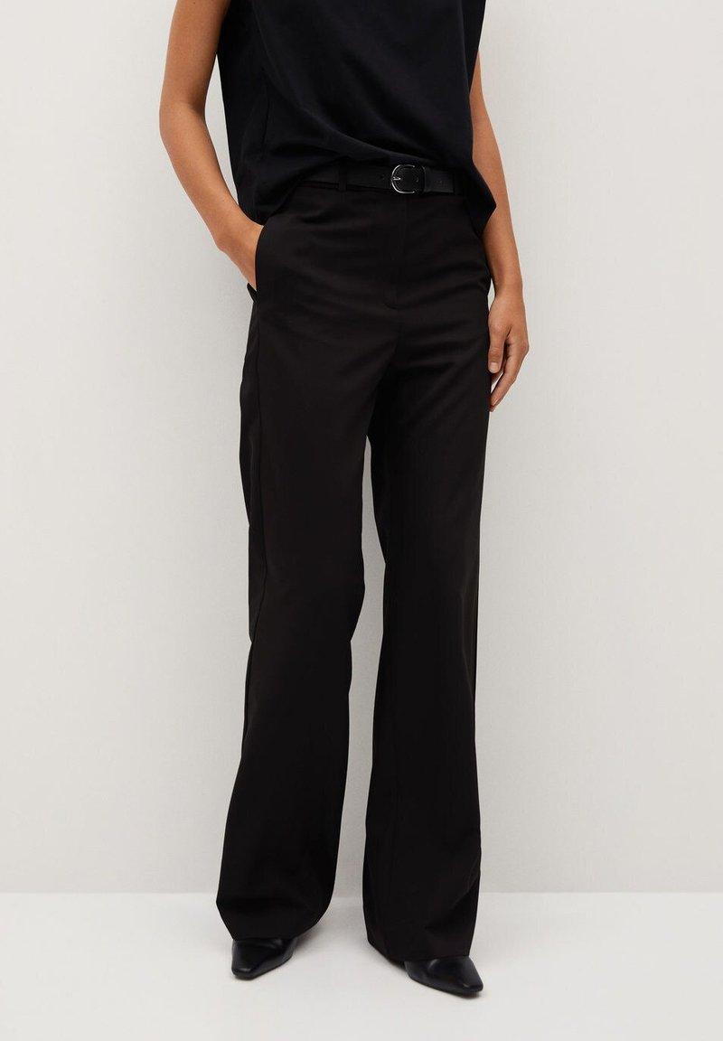 Mango - BORI - Trousers - noir