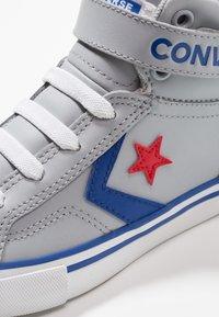 Converse - PRO BLAZE STRAP - Baskets montantes - wolf grey/blue/enamel red - 2