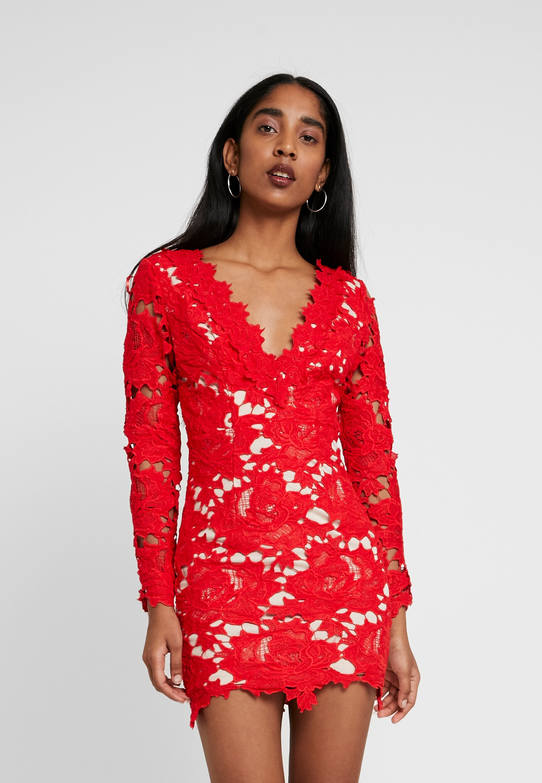 love triangle killer queen mini dress - cocktailkleid