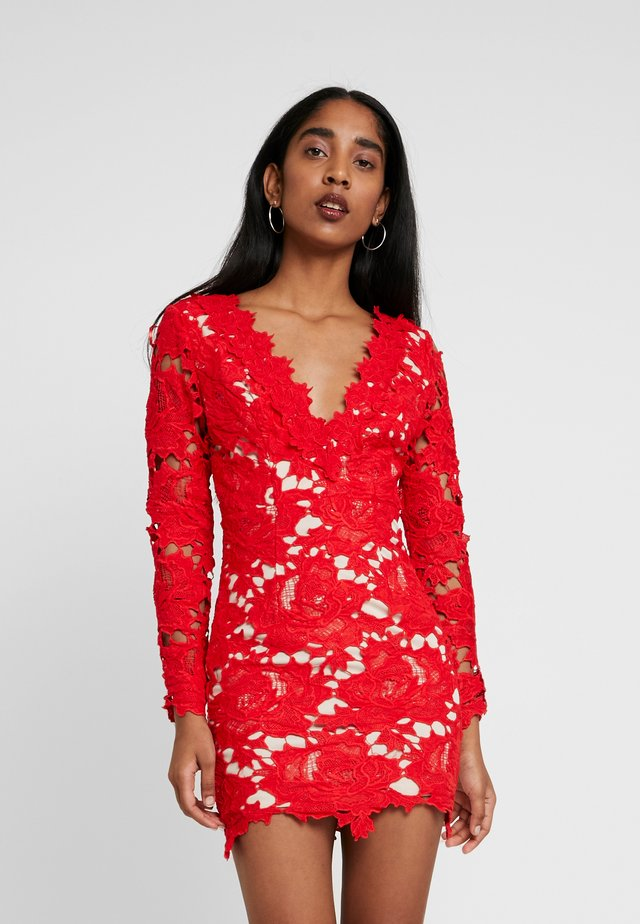 KILLER QUEEN MINI DRESS - Sukienka koktajlowa - red