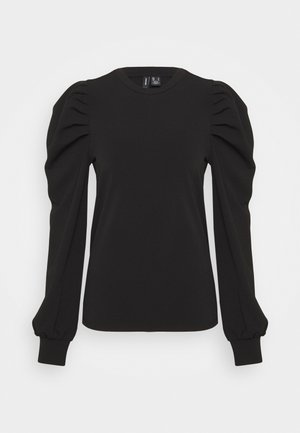 VMLENORE PUFF - Long sleeved top - black