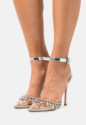 RASSEL - Classic heels - silver