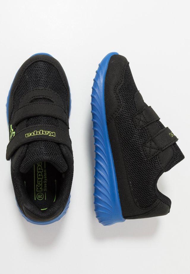 CRACKER II - Chaussures d'entraînement et de fitness - black/blue