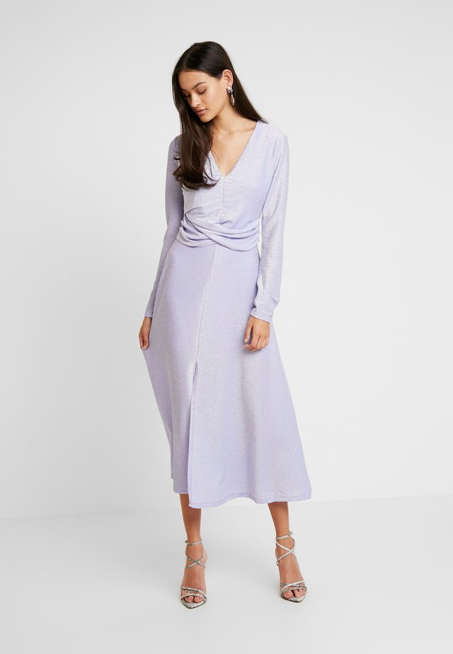 ENLUMI DRESS - Jersey dress - smokey glitter