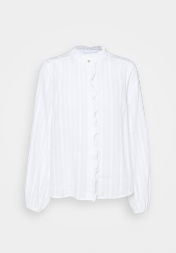 YASFRILA - Button-down blouse - bright white