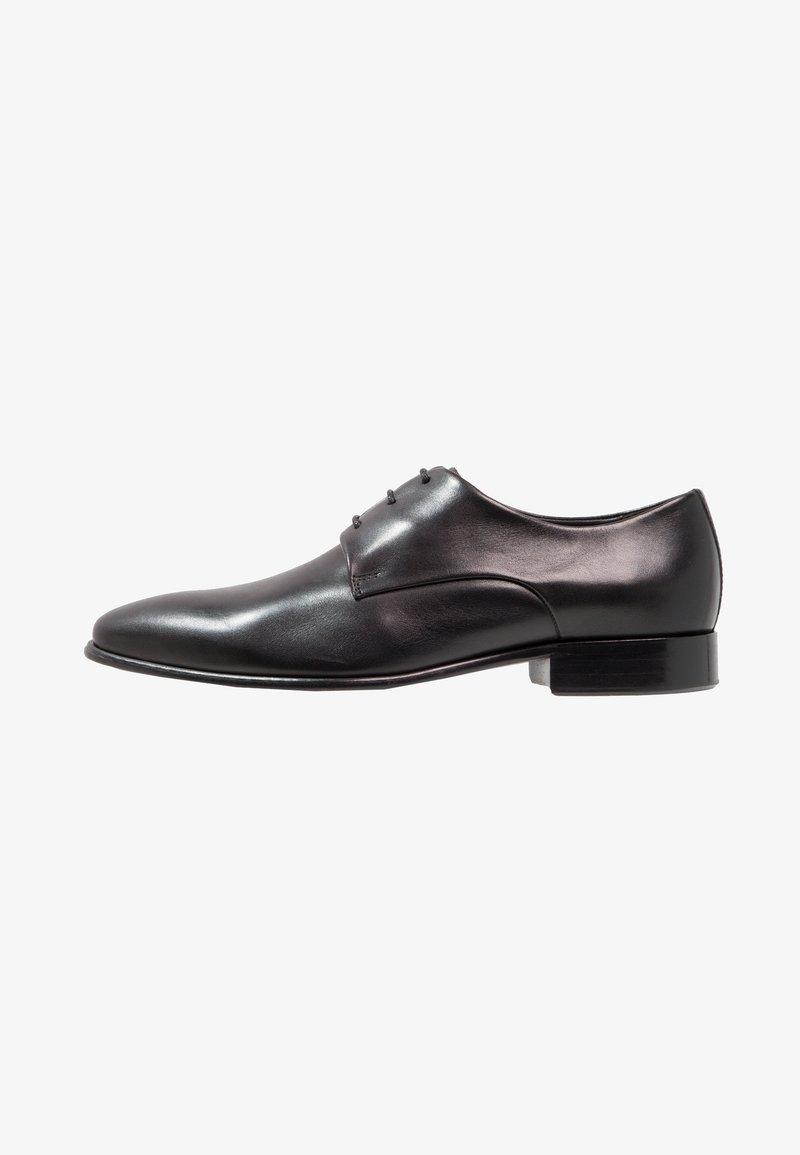Prime Shoes - Elegantní šněrovací boty - black