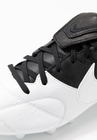 Nike Performance - PREMIER - Moulded stud football boots - white/black - 5