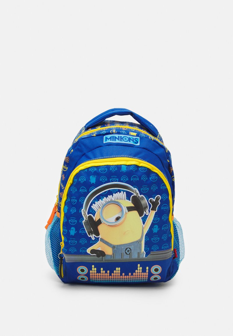 Kidzroom - BACKPACK MINIONS CHECK IT OUT UNISEX - Rucksack - blue