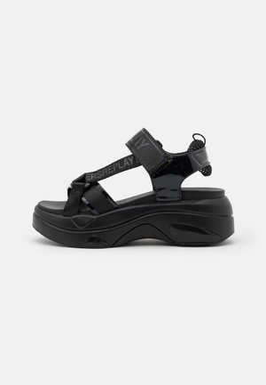 WELLOW - Platform sandals - black