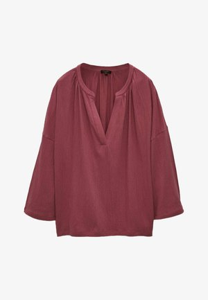 Blouse - neon pink