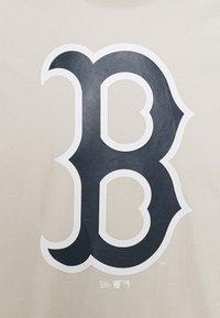 New Era - BOSTON RED SOX SEASONAL TEAM LOGO TEE - Fanartikel - beige - 2
