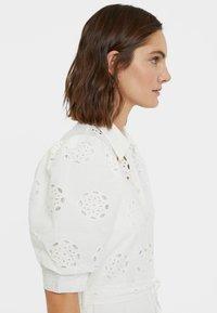 Desigual - NORIA - Košilové šaty - white - 4