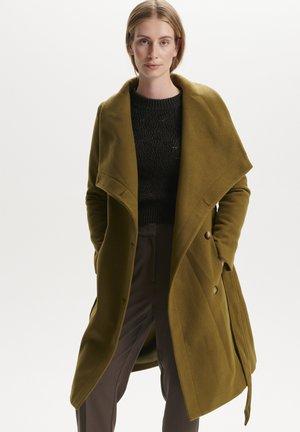 Classic coat - dark olive