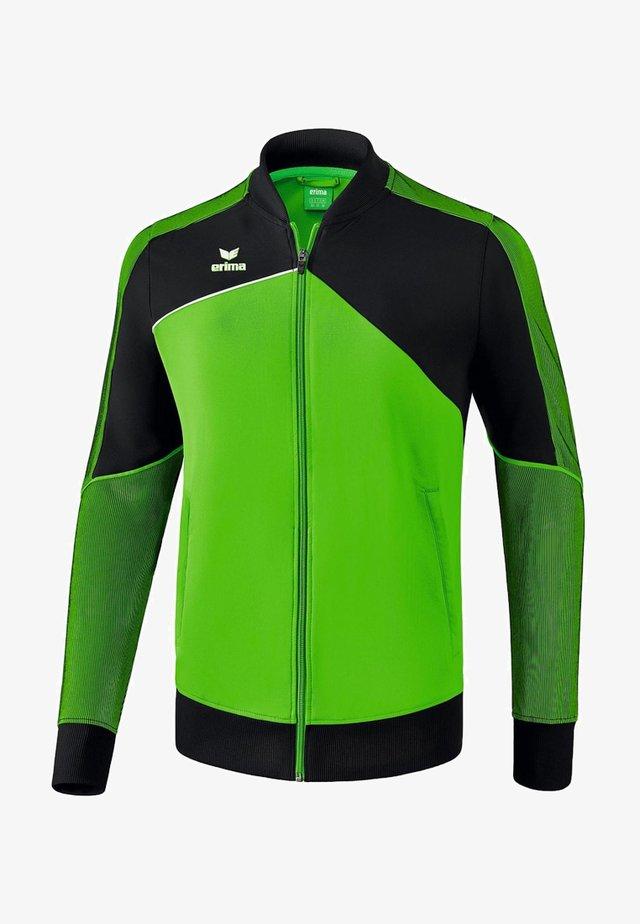 Laufjacke - green / black