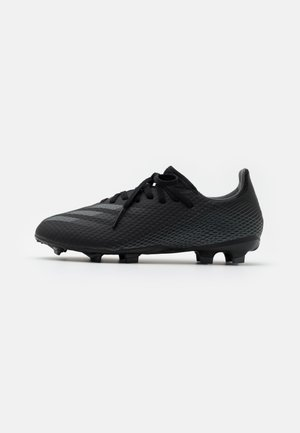 X GHOSTED.3 FG UNISEX - Moulded stud football boots - core black/grey six