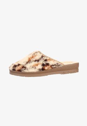 Slippers - natur