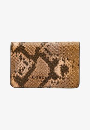 Wallet - caramel blush