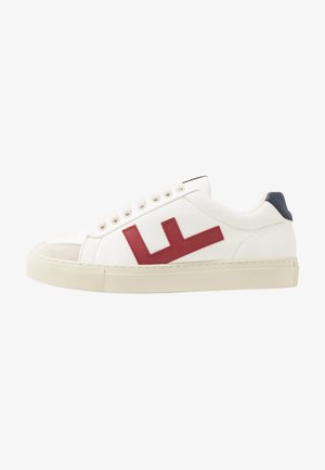 CLASSIC 70'S UNISEX - Matalavartiset tennarit - white/navy/red/grey