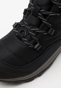 Keen - TERRADORA II ANKLE BOOT WP - Snowboots  - black/drizzle - 5