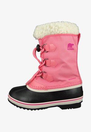 Winter boots - lollipop