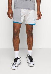 Hummel - HMLINVICTA GAME SHORTS - Sports shorts - gray violet/sharkskin - 0