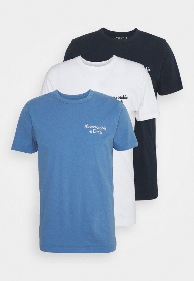SUMMER 3 Pack - T-shirt basique - blue