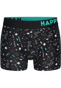 Happy Shorts - 2 PACK - Underkläder - black, teal - 1