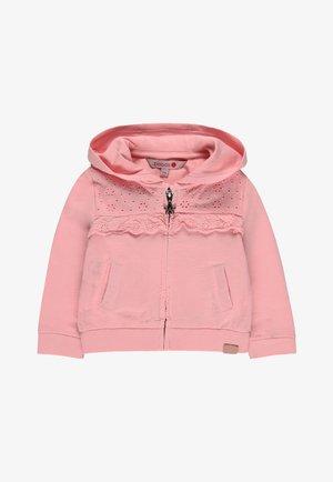 Zip-up hoodie - hortensia