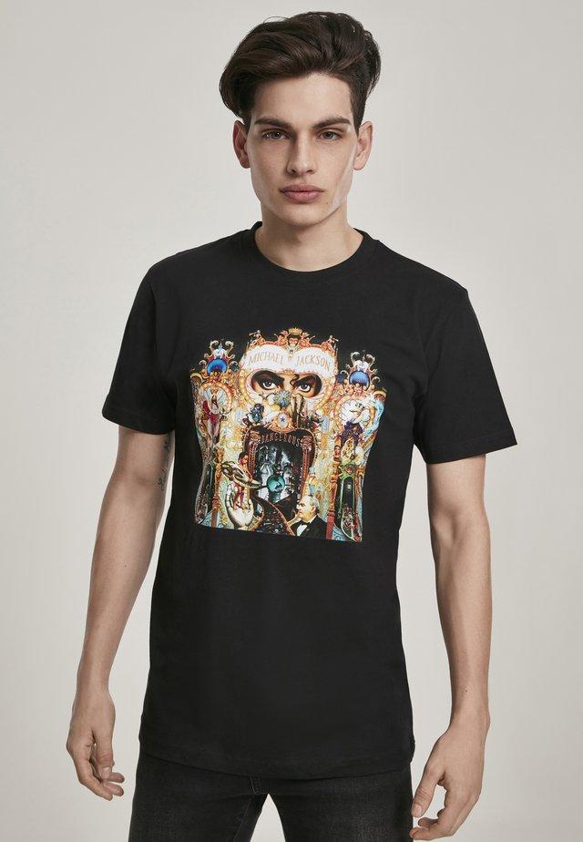 MICHAEL JACKSON DANGEROUS - T-shirt imprimé - black