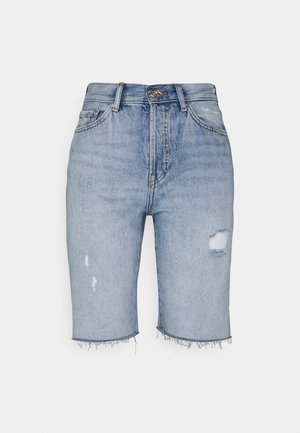 ONLFINE LIFE - Shorts di jeans - light blue denim