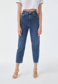 PULL&BEAR - Jean slim - stone blue denim - 2