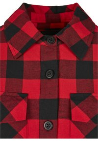 Urban Classics - Button-down blouse - black/red - 2