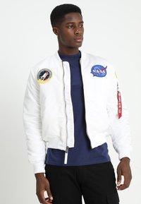 Alpha Industries - NASA - Bomber Jacket - white - 0