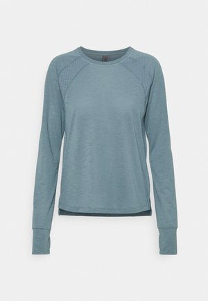 BREEZE RUNNING LONG SLEEVE - Sportshirt - steel blue
