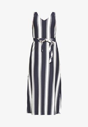 STRIPED MAXI DRESS - Maxi šaty - evening blue