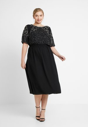 YSEQUINS DRESS - Cocktailjurk - black