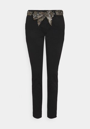 LIDY - Chino kalhoty - black