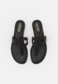 Lauren Ralph Lauren - AUDRIE - T-bar sandals - black - 4