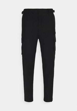 P-HOMEN PANTALONI - Cargo trousers - black