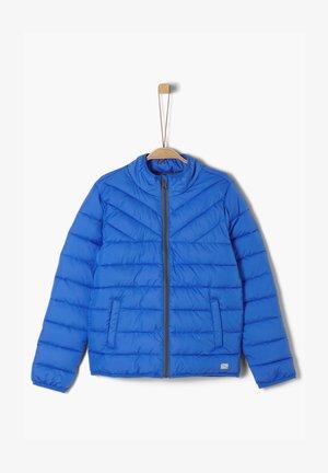 MIT LEICHTER WATTIERUNG - Down jacket - blue