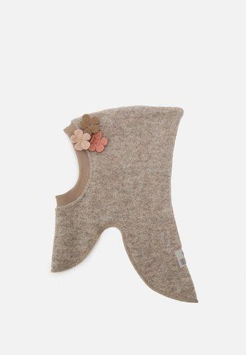 KIDS ELEFANTHUT UNISEX - Čepice - grey/light pink/dusy grey/brown