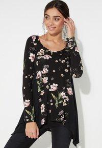 Tezenis - Long sleeved top - nero st.floral bouquet - 0