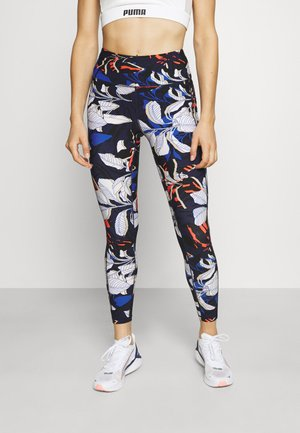 WELCOME TO THE JUNGLE PRINT HIGH WAIST 7/8 - Medias - midnight