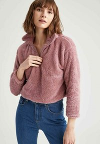 DeFacto - Fleece jumper - bordeaux - 4