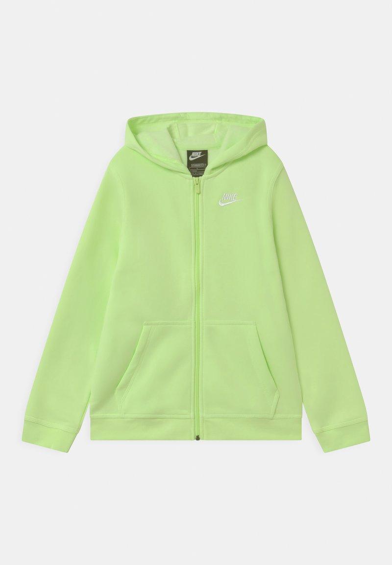 Nike Sportswear - HOODIE CLUB - Sweater met rits - light liquid lime