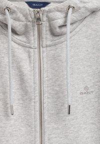 GANT - Zip-up sweatshirt - light grey melange - 1