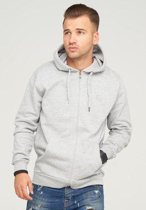 Hoodie - grey melange (grau)